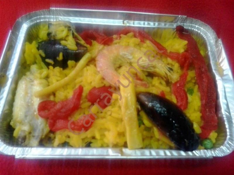 paella comida para llevar restaurante carrayuncal