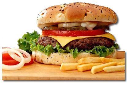 hamburguesas restaurante carrayuncal+patatas