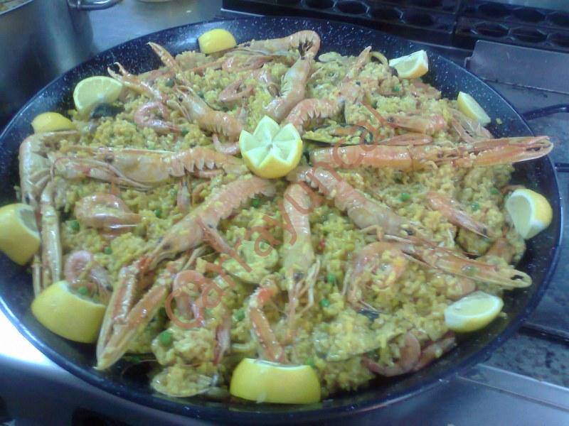 paella restaurante carrayuncal